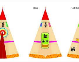 #5 cho Design for Children Role-Play Tent bởi PanchalDesigning