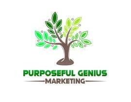 Nro 38 kilpailuun Purposeful Genius Marketing Make A LOGO käyttäjältä rimihossain