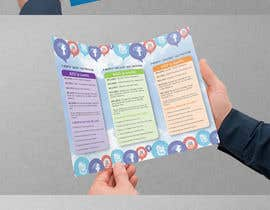 #18 untuk Tri-Fold Brochure Design for Social Media Marketing Sevices oleh Brandwar