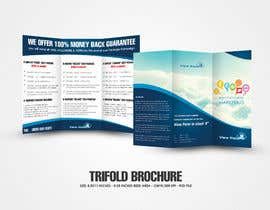 #4 para Tri-Fold Brochure Design for Social Media Marketing Sevices por gerardway