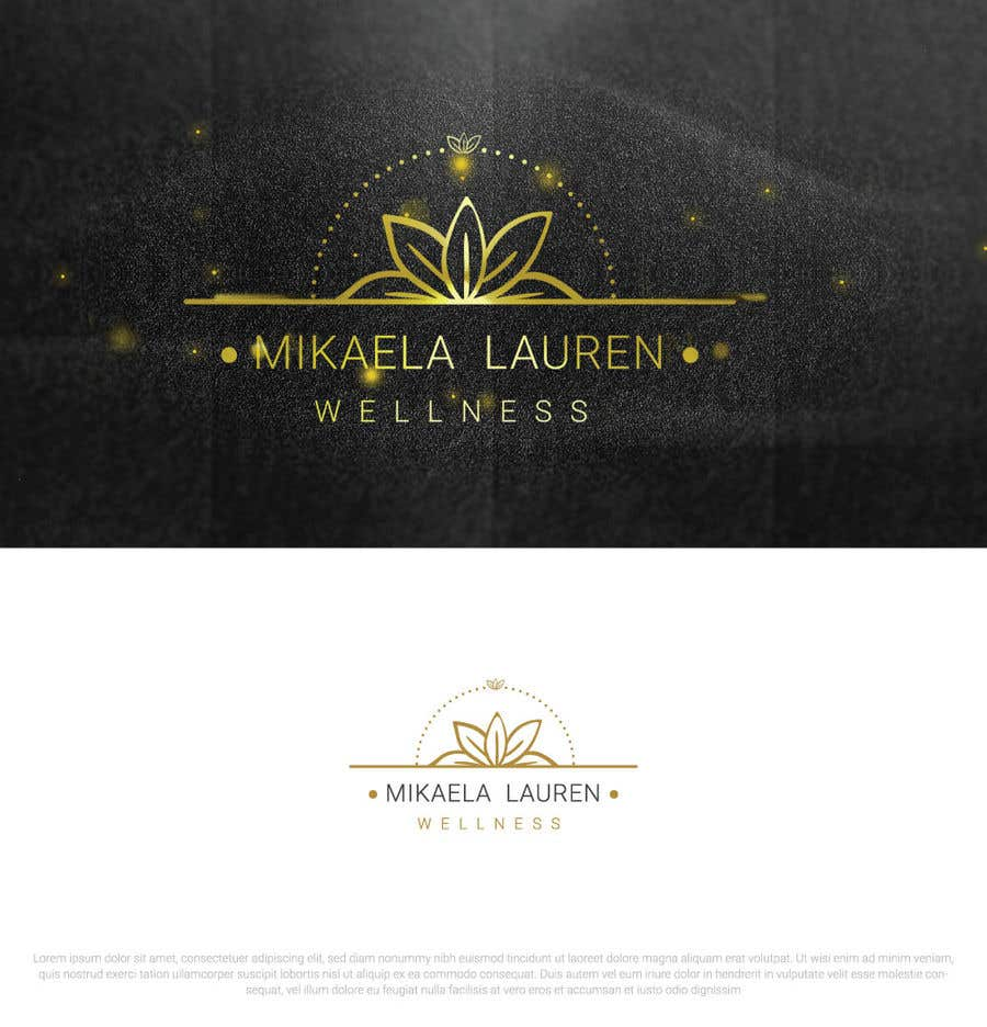 "Konkurrenceindlæg #                                        522                                      for                                         Logo for ""Mikaela Lauren Wellness"""