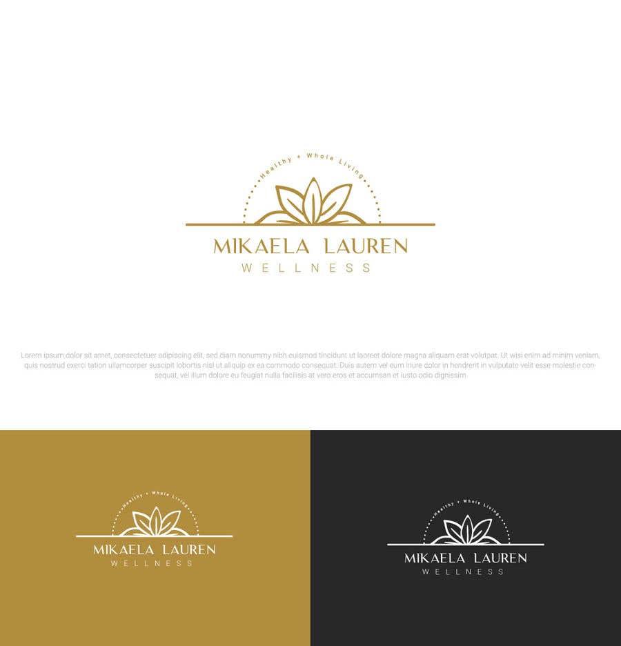 """Konkurrenceindlæg #                                        524                                      for                                         Logo for """"Mikaela Lauren Wellness"""""""