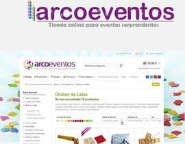 #76 para Logo Design for ArcoEventos.com por dinezatwork