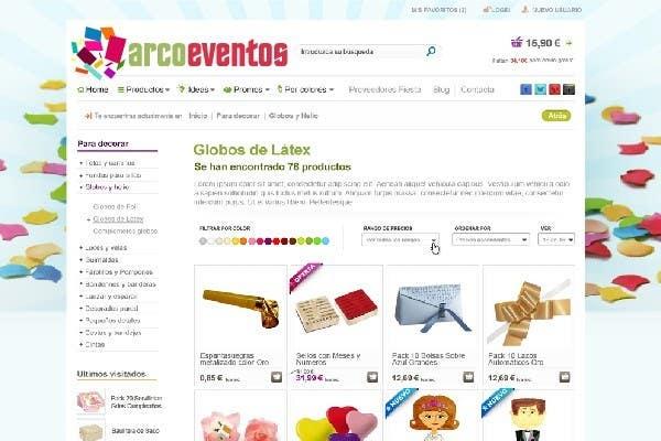 Kilpailutyö #                                        64                                      kilpailussa                                         Logo Design for ArcoEventos.com