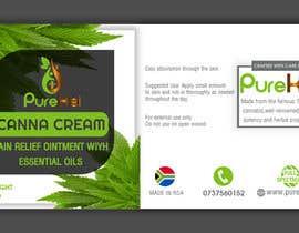 shawonsowdagor tarafından Design a label for my canna cream için no 18