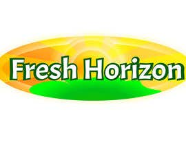 #2 para Logo Design for nutritional products called Fresh Horizon por happybuttha
