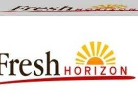 #20 para Logo Design for nutritional products called Fresh Horizon por alinaamwebdesign
