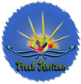 #23 untuk Logo Design for nutritional products called Fresh Horizon oleh w21