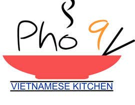 "#55 for Design a Logo for a Vietnamese Kitchen Restaurant ""Pho Nine"" by istykristanto"