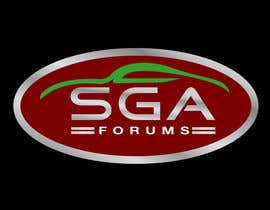#44 para Logo Design for SGA Forums Automotive Site por woow7