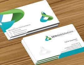 #39 for Business Card Design for SEOWeb Solutions by jobee