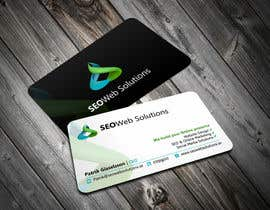 ezesol tarafından Business Card Design for SEOWeb Solutions için no 24