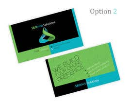 #58 para Business Card Design for SEOWeb Solutions por theDesignerz