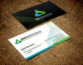 nº 10 pour Business Card Design for SEOWeb Solutions par rajajane
