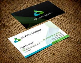 #28 for Business Card Design for SEOWeb Solutions by rajajane