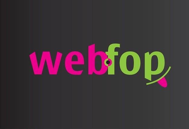 Konkurrenceindlæg #6 for Logo Design for webfop
