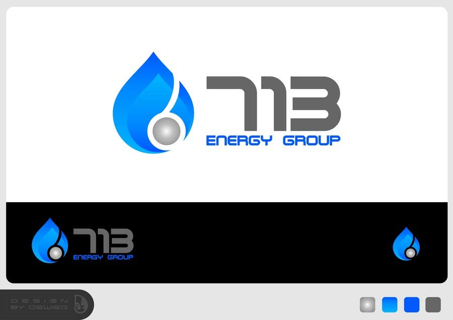 #155 for Complete Make Over, Logo, Website, Brochures, Flyers.  Start w/Logo,  713 Energy Group by Dewieq