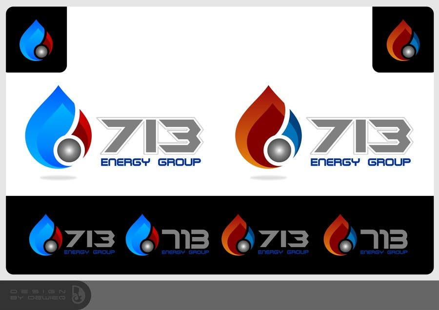 #215 for Complete Make Over, Logo, Website, Brochures, Flyers.  Start w/Logo,  713 Energy Group by Dewieq