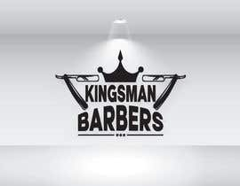 #152 for design me a cool but simple barber shop logo- (Kingsman Barbers) black & white only! by tarikulislam86