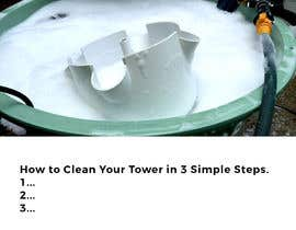 #3 for I would like an image of this image on an iPad with just a white background. The second image I would like at the top of a page with the words underneath saying, How to Clean Your Tower in 3 Simple Steps. underneath have steps 1...2...3... by farheem