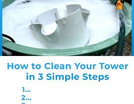 #10 for I would like an image of this image on an iPad with just a white background. The second image I would like at the top of a page with the words underneath saying, How to Clean Your Tower in 3 Simple Steps. underneath have steps 1...2...3... by YoussefTl