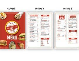 #40 untuk Create new restaurant menu ( for screen display & print) oleh fatimanawaz9696