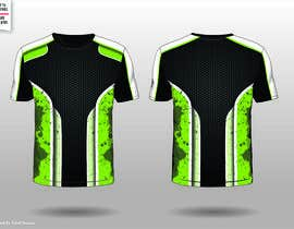 #4 for Full sublimation jersey design In vecter file. by fahidyounis