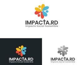 """#30 para Logo design for """"IMPACTA.RD"""" de davincho1974"""