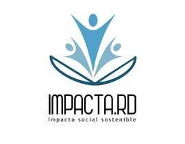 """#25 para Logo design for """"IMPACTA.RD"""" de cabralpameladg"""
