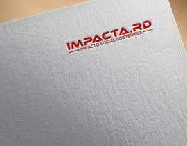 """#35 para Logo design for """"IMPACTA.RD"""" de alauddinh957"""