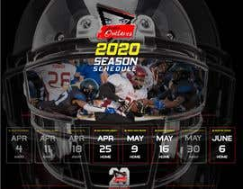 #26 for Womens Tackle Football Season Schedule by DESIGNERpro11