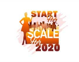 """#198 for Create a Logo for a Women's Business Conference titled: """"Start HER Scale HER 2020"""" by franklugo"""