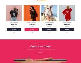 #45 για E-Commerce Landing Page design από kreemaDesigns