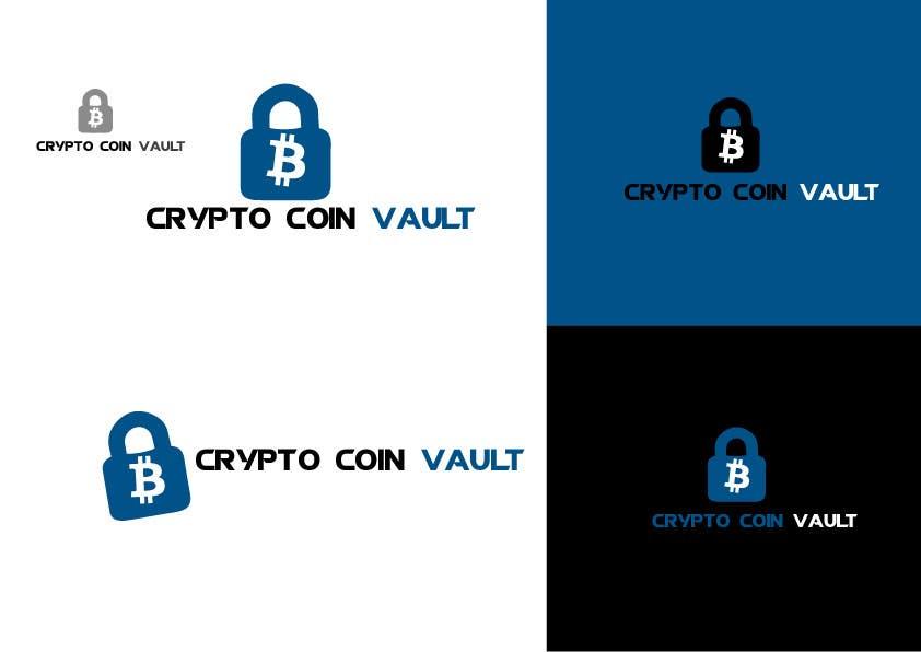Bài tham dự cuộc thi #                                        20                                      cho                                         Design a Logo for Crypto Coin Vault