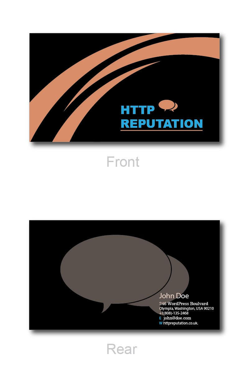 #39 for Business Card and letter head Design for httpreputation by ravimorey