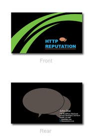 Graphic Design Contest Entry #40 for Business Card and letter head Design for httpreputation