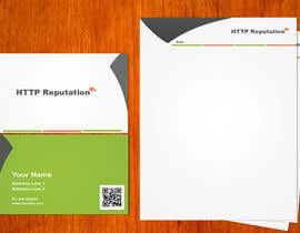 #9 para Business Card and letter head Design for httpreputation por amitpadal