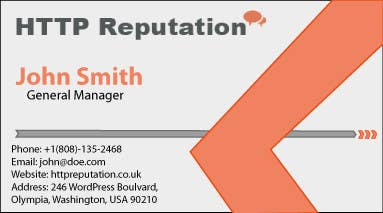 #13 for Business Card and letter head Design for httpreputation by ITProStuff
