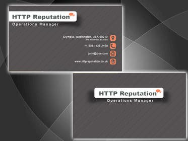 Graphic Design Contest Entry #3 for Business Card and letter head Design for httpreputation