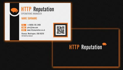 Graphic Design Contest Entry #23 for Business Card and letter head Design for httpreputation