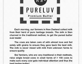 #4 untuk Story board for a luxury consumer food brand oleh vw7184529vw