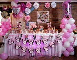 Nro 9 kilpailuun design birthday party decorations käyttäjältä AngiePavlov