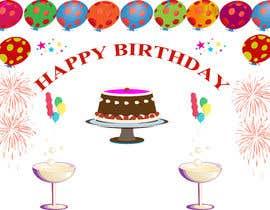 Nro 6 kilpailuun design birthday party decorations käyttäjältä saajizahra127