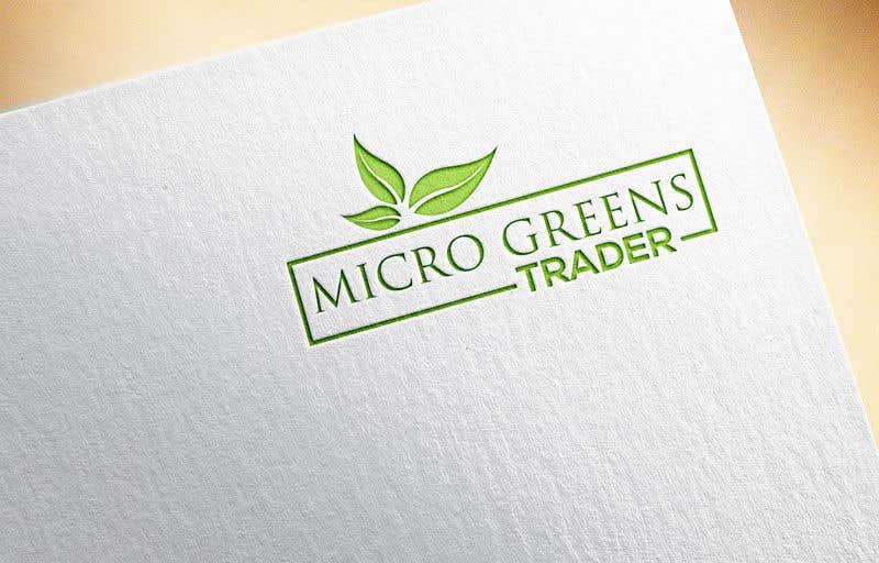 Participación en el concurso Nro.                                        13                                      para                                         Microgreenstrader logo