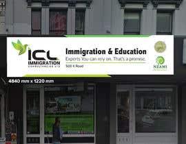 Nro 33 kilpailuun Design a Signboard for our Immigration Business käyttäjältä iqbalsujan500