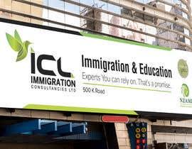 Nro 34 kilpailuun Design a Signboard for our Immigration Business käyttäjältä iqbalsujan500