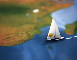 #20 for Animated Map of Sailing boat Around the World af ilang