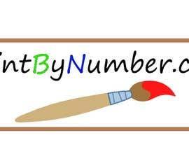 Nro 4 kilpailuun iPaintByNumber.com Logo käyttäjältä Liner2483