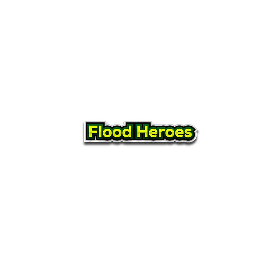 Contest Entry #                                        263                                      for                                         Flood Heroes Logo