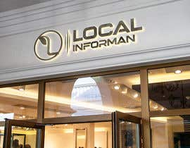 #623 untuk A logo and a graphic for a start up: Local Informant oleh shamim949407